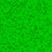 Green triangle background — Stock Photo