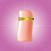Cosmetic bottle — Stock Photo