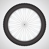 Bike wheel — Stock Vector
