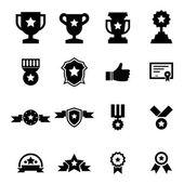 Award Icon set — Stock Vector