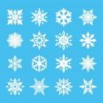 vecteur de flocon de neige — Vecteur #31968303