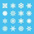 Snowflake Vector — Stockvectorbeeld