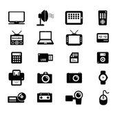 Elektronische pictogram — Stockvector