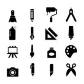 Art Icon — Stock Vector