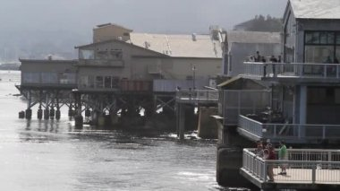 Cannery Row Monterey California — Stock Video