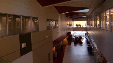 Hall grande ufficio — Video Stock