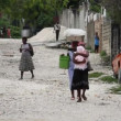 Neighborhood street scene Port-au-Prince Haiti — Stock Video
