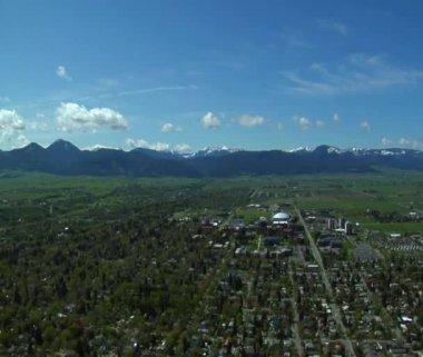 Photo aérienne de vallée du paradis — Vidéo