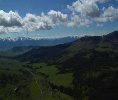Paradise valley in de buurt van livingston montana — Stockvideo