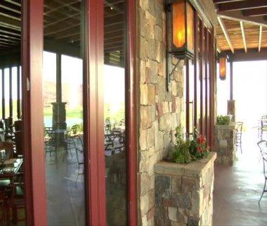 Sala ristorante grande — Video Stock