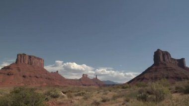 Rock monuments — Stock Video