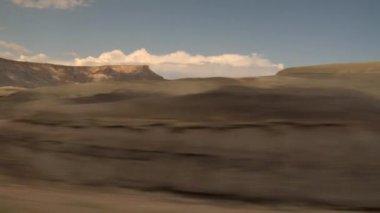 Barren desert — Stock Video