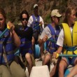 River Rafting — Stock Video