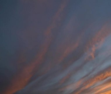Sunset clouds in southern Utah — Stok video
