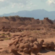 Stock Video: Goblin Valley Utah