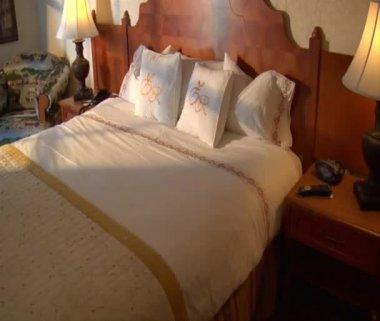 Luxury hotel room — Stock Video