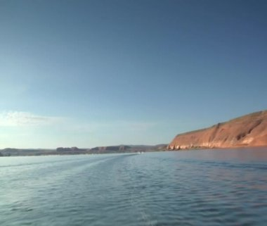 Water on Lake Powell — Stock Video