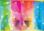 Triângulos abstratos — Vetor de Stock