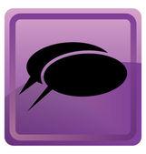 ícone de bate-papo — Vetor de Stock