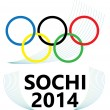 Sochi 2014 — Stock Vector
