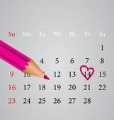 Happy Valentines day — Stock Vector