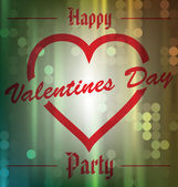 Happy Valentines Day Party — Vecteur