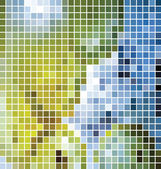 Vector mosaic background — Stock Vector