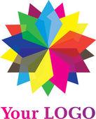 Elemento di design del logo — Vettoriale Stock