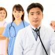 Smiling Asimedical staff — Stock Photo #18915475