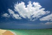 Prachtig strand in okinawa — Stockfoto