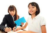 Child Studying — Stock Photo