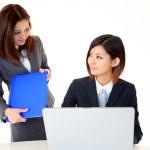 Businesswomen discussing plans — Stock Photo #19204645