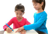 Children Studying — Stock Photo