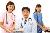 Medical staff working — Stock Photo