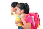 Asian schoolgirls — Stock Photo