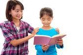 Children studying — Stock Photo