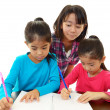 Children Studying — Stock Photo #22139655