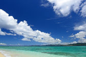 Beautiful beach in Okinawa — Stock Photo