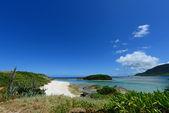Nádherná pláž v okinawa — Stock fotografie