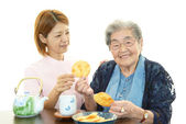 Caregiver Services — Stock Photo