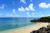 Bella spiaggia in okinawa — Foto Stock