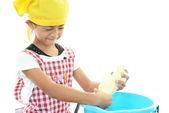 Dziewczyny, którzy lubią pomoc z domowych — Zdjęcie stockowe