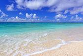 Okinawa güzel bir plaj — Stok fotoğraf