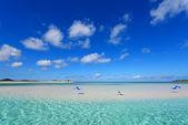 Schöner Strand in okinawa — Stockfoto