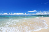 The blue sea and sky in Okinawa — Photo