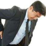 Businessman having back pain — Stock Photo #31421333