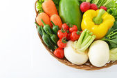 Frutas y verduras frescas — Foto de Stock