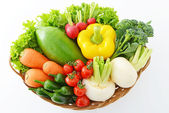 Fresh fruits and vegetables — Стоковое фото