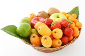Fresh fruits — Foto de Stock