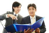 Azjatycki biznesmen — Zdjęcie stockowe